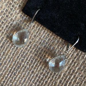 Jewelry - Clear Crystal Teardrop Drop & Dangle Earrings